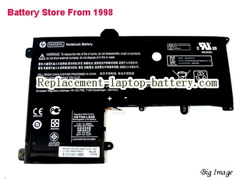 HP HSTNN-LB5B Battery 3380mAh, 25Wh  Black