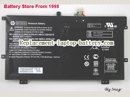 HP X2 10-H010NR Battery 21Ah