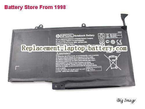 USA Genuine HP NP03XL HSTNN-LB6L battery for HP ENVY 15-U Series 760944-421  761230-005 HP laptop Battery