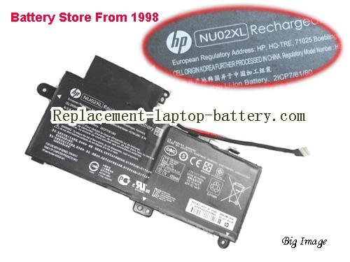 HP M1-U001DX Battery 4350mAh, 35Wh  Black