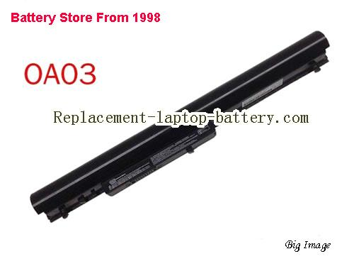 HP TPN-C114 Battery 2612mAh, 31Wh  Black