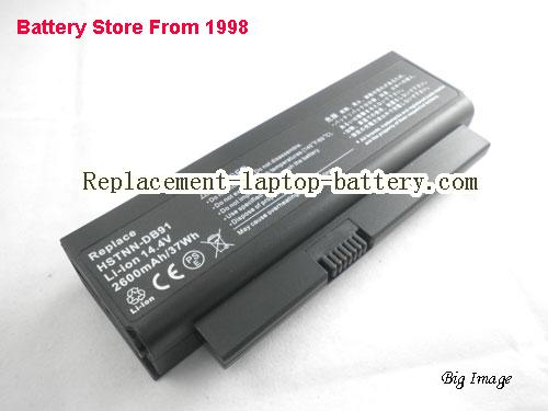 HP 579320-001 Battery 2600mAh Black