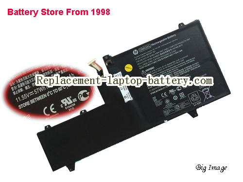 HP x360 1030 G2 1GY31PA Battery 4935mAh, 57Wh  Black