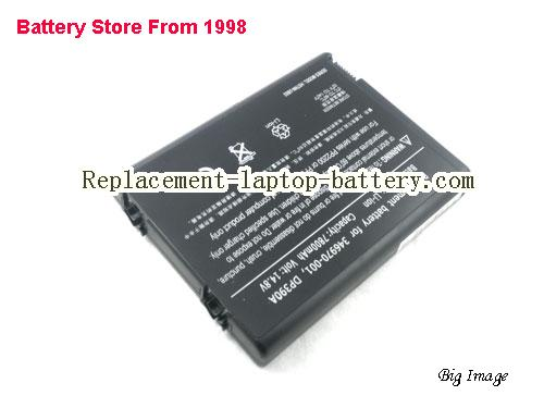 HP COMPAQ HSTNN-YB02 Battery 6600mAh Black