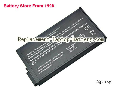 HP 191169-001 Battery 4400mAh Black