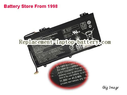HP Z6Y33PA Battery 3450mAh, 41Wh  Black