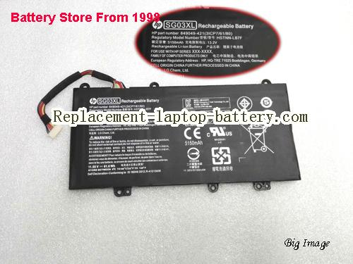 HP W2K88UA Battery 3450mAh Black