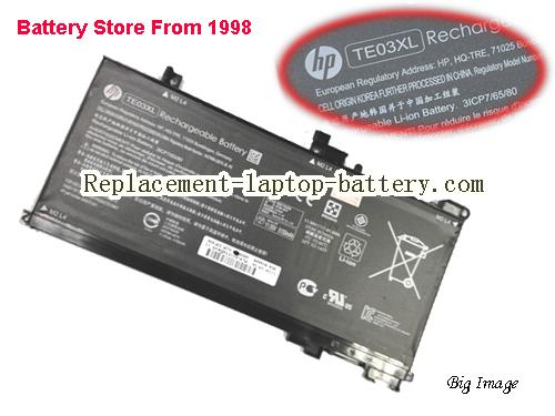 HP X1G87PA Battery 5150mAh, 61.6Wh  Black