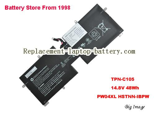 HP TPN-C105 Battery 48Wh Black
