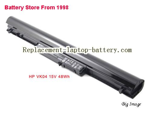 HP VK04 Battery 37Wh Black