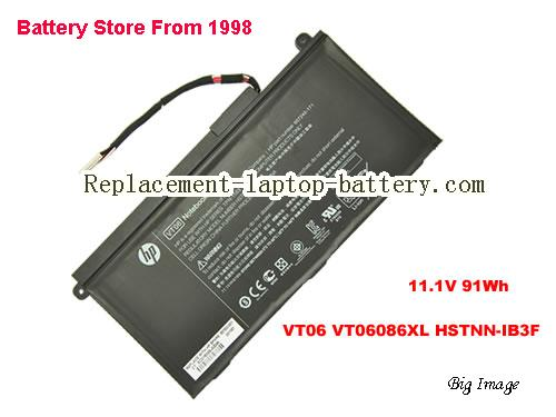 HP VT06 Battery 91Wh Black