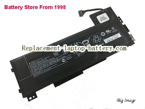 HP ZBook 15 G3 (T7V56ET) Battery 7890mAh, 90Wh  Black