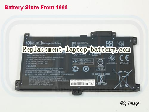 HP HSTNN-LB7T Battery 4212mAh, 48.01Wh  Black