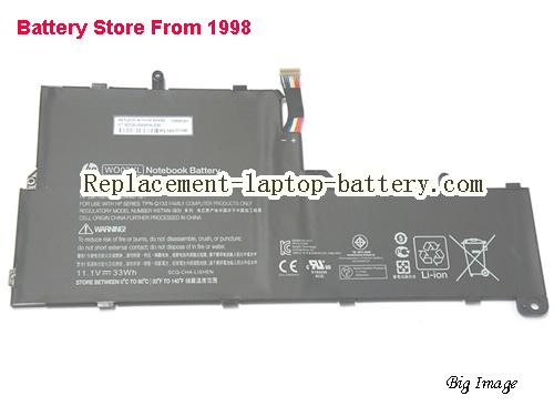 HP 725606-001 Battery 33Wh Black