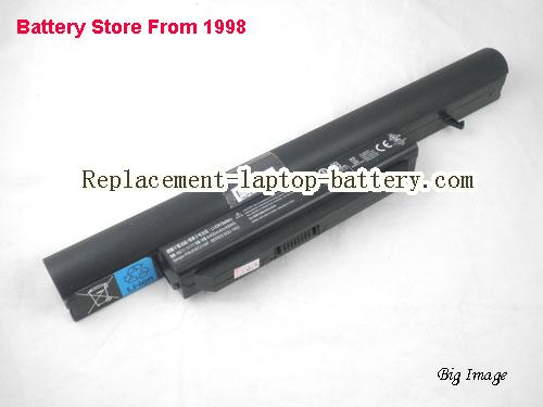 HASEE K580S Battery 4400mAh Black