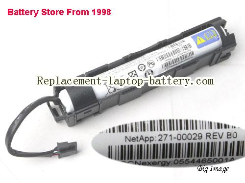 Original / Genuine  20.9Wh, 2.9Ah IBM 700B, 27100029, NetApp FAS2240, 271-00029 Rev B0,