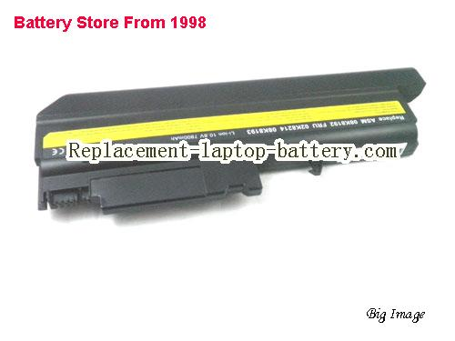 LENOVO T42 2373 Battery 6600mAh Black
