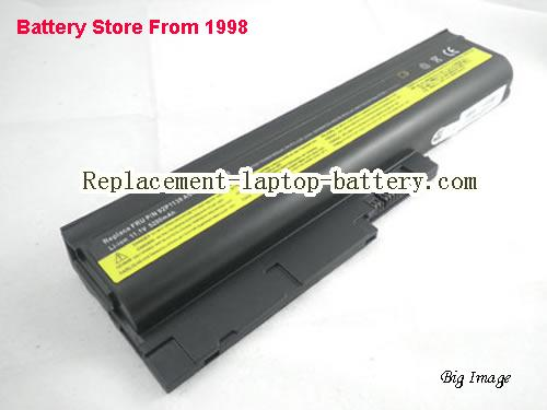 LENOVO ThinkPad R61 SERIES (14.1 15.0 15.4 SCREEN) Battery 5200mAh Black