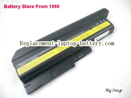 LENOVO ThinkPad R61 SERIES (14.1 15.0 15.4 SCREEN) Battery 7800mAh Black