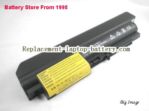 IBM ThinkPad R400 7443 Battery 5200mAh Black
