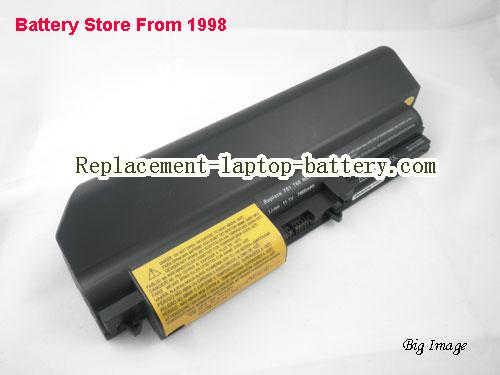 IBM ThinkPad R400 7443 Battery 7800mAh Black
