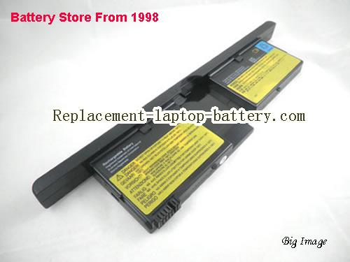 IBM FRU 92P1082, FRU 92P1083, 73P5167, ThinkPad X41 Tablet Series Replacement Laptop Battery