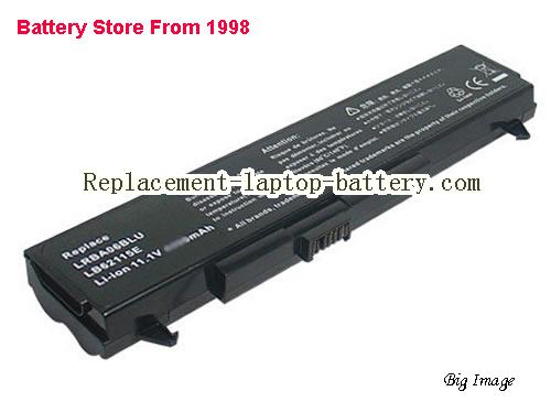 LG LB62115E, M1, P1, W1-D2RLV1, W1 Series Replacement Laptop Battery 4400mAh 11.1V