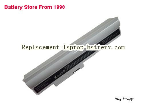 LG LBA211EH, X120 Series Replacement Laptop Battery 6600mAh White