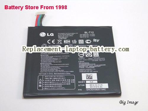 Genuine LG BL-T12 G Pad 7.0 V400 V410 Tablet Battery