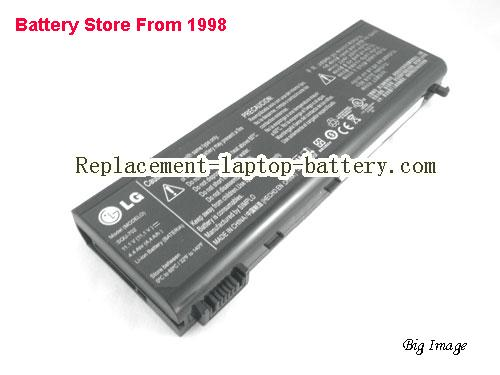 LG 4UR18650F-QC-PL3 Battery 4400mAh Black