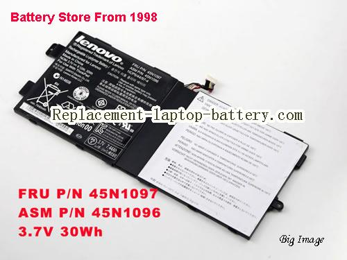 LENOVO Tablet 2 Battery 30Wh, 8.12Ah Black