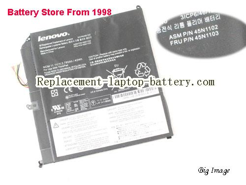 LENOVO Helix 3701-3GM Battery 42Wh, 3.785Ah Black