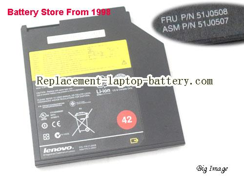 LENOVO 51J0507 Battery 2900mAh, 32Wh , 2.9Ah Black