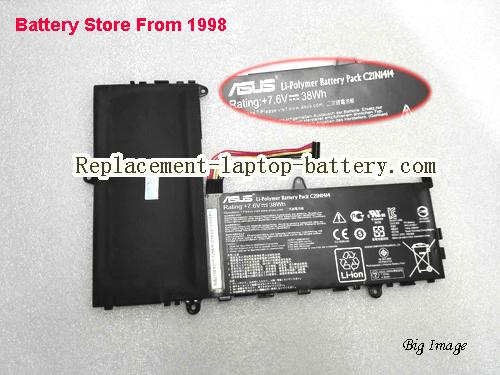 ASUS X205TA-1R Battery 38Wh Black