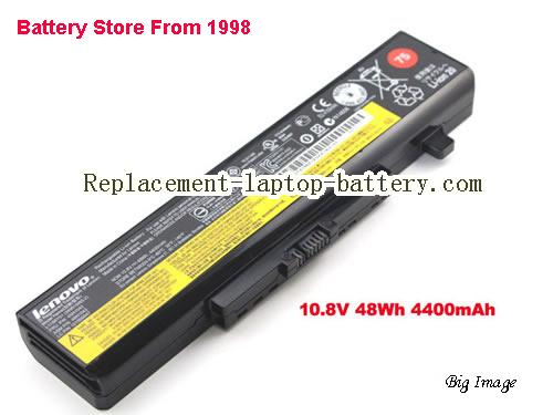 LENOVO Y580N Battery 4400mAh, 48Wh  Black