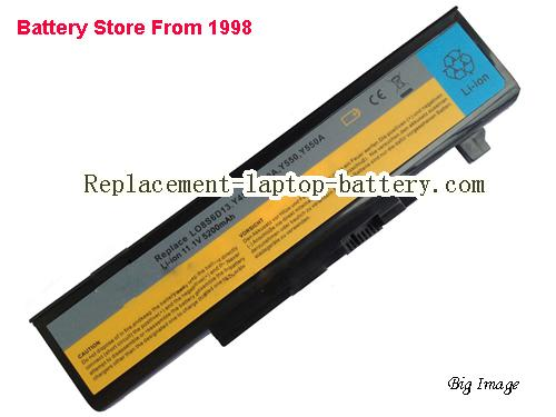 New LO8L6D13 LO8O6D13 Replacement Battery For Lenovo IdeaPad Y450 IdeaPad Y450 20020 Laptop