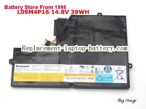 Genuine New LENOVO U260 L09M4P16 Battery 14.8V 39Wh