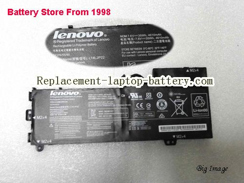 LENOVO L14L2P22 Battery 35Wh, 4610Ah Black