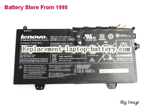 LENOVO Yoga 3 11-5Y10c Battery 4680mAh, 34Wh  Black