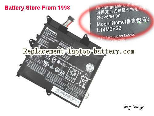 LENOVO Flex 3-1120 80LX Battery 4050mAh, 30Wh  Black