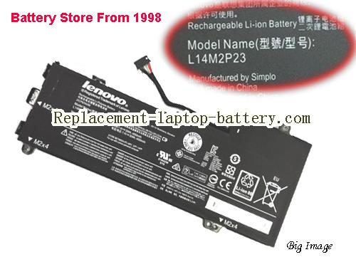 LENOVO E31-70 Battery 4050mAh, 30Wh  Black
