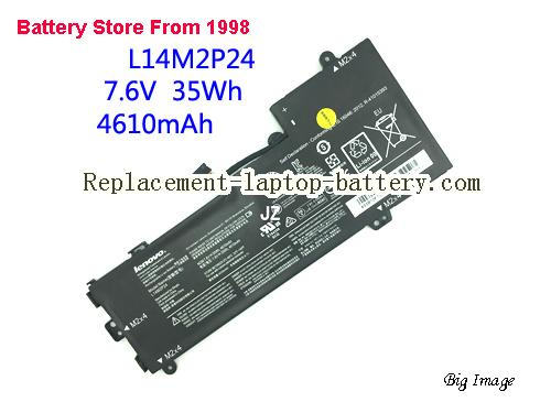 L14M2P24 L14S2P22 Battery For Lenovo E31 U31 Series Laptop