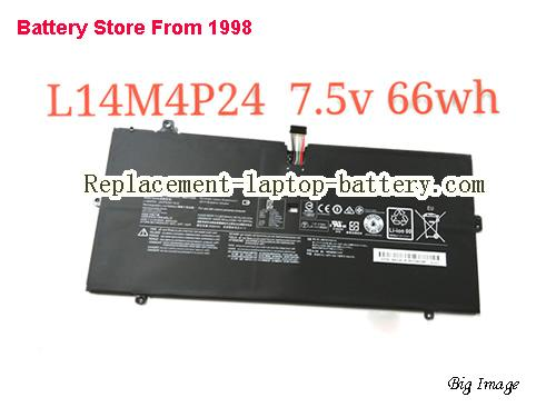 LENOVO Yoga 900-13ISK (80MK002FGE) Battery 8800mAh, 66Wh  Black