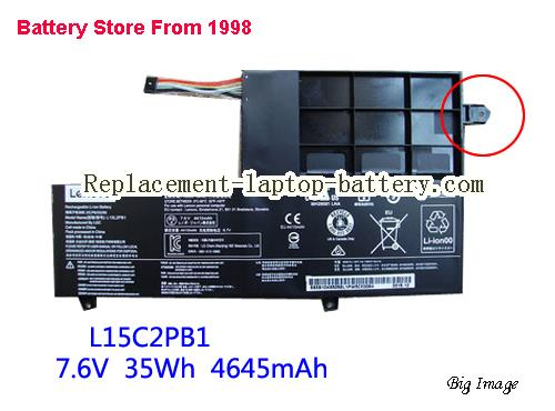 LENOVO L15C2PB1 Battery 4610mAh, 35Wh  Black