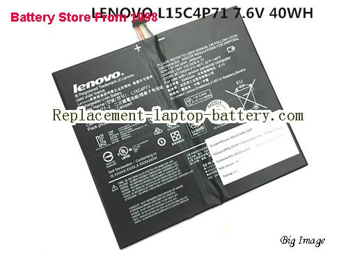 LENOVO L15L4P71 5B10J40259 Battery 40Wh Black