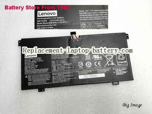 LENOVO Yoga 710 Battery 5264mAh, 40Wh  Black