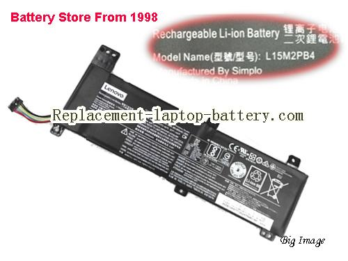 LENOVO L15M2PB2 Battery 5080mAh, 39Wh  Black