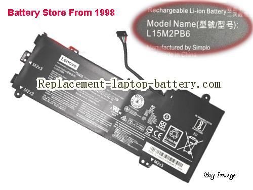 Lenovo IdeaPad Flex 4-1130 Li-ion Battery L15M2PB6 7.5v 4000mah 30wh