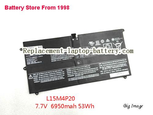 LENOVO YOGA 900S-12ISK-6Y75 Battery 7000mAh, 53.5Wh  Black