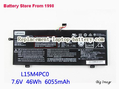 LENOVO Ideapad 710S Plus Battery 6135mAh, 46Wh  Black